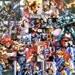 Thundercats Decoupaged Comic Collage Canvas