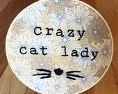 Crazy Cat Lady Embroidery Hoop