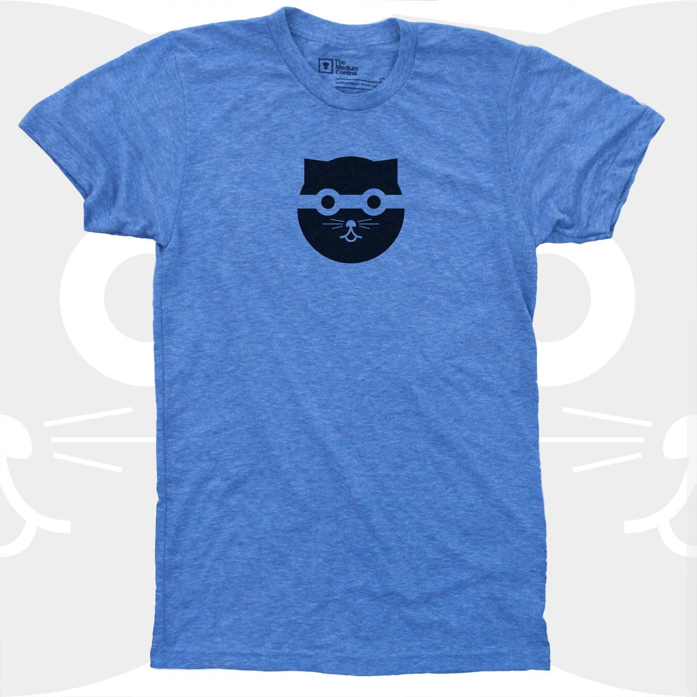 Cat Shirt Men Bandit Watson the Cat TShirt Men Graphic Tee Mens