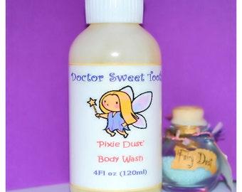 Pixie Dust Body Wash with Argan & Jojoba Oil