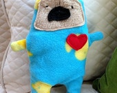 Doug ~ The Pug Bummlie ~ Stuffingless Dog Toy - Ready To Ship Today