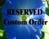 Custom Order for LAURA KINNEY only!