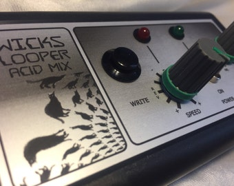 Wicks Looper Acid Mix handmade synth loops