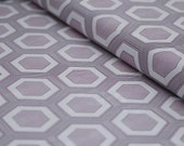 Simply Style by V and Co Hexagons in Purple Half Yard
