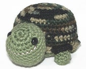 Crocheted Turtle Cammie