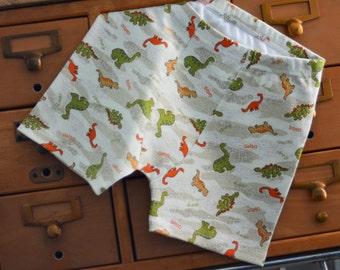 Dino Stomp children's boxer briefs, custom size - made to order