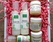 Natural Hair Care Samples