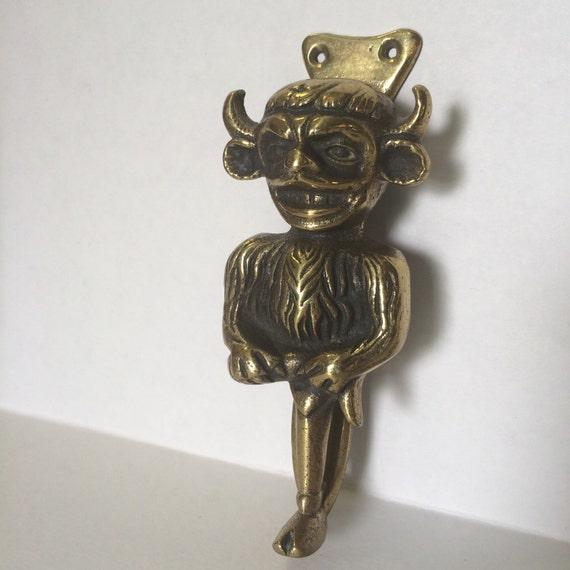 Vintage Elpec Brass Devil Door KnockerHalloween by gibsgoods ~ 003642_Halloween Door Knocker
