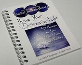 1/2 Off Sale - Bring Your Dreams to Life: 50 Prompts to Turn Your Visions into Reality Journal  - Large Size