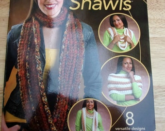 Crochet circle scarf patterns, Annies Attic Eternity shawls infinity scarves loop scarf crochet booklet patterns