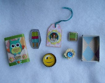 Owl Matchbox with Goodies