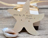 Customized Starfish Earring Display Cards - Jewelry Display - Necklace Cards - Tags - Packaging DS057