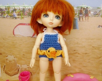 PukiFee/Lati Swimsuit Blue