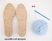 espadrille soles - M2 - 3cms - 39 to 42 EU
