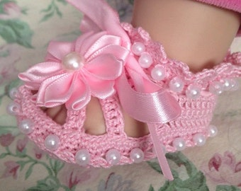 Crochet Baby CHRISTENING SHOES