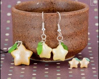 Paopu Fruit Phone Charm, Earrings, or Studs (Made to Order)