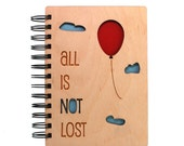 All is Not Lost - Lasercut Wood Journal