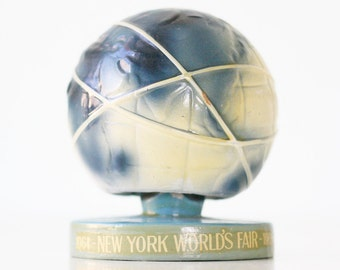 Vintage Bobble Globe, New York World's Fair, 1965, Unisphere presented by United States Steel
