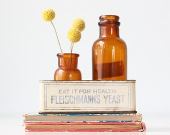 Vintage Fleischmann's Yeast Tin, Advertising Display Box