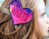 New Kids NKOTB I Love Joey Hair Clip MTCoffinz