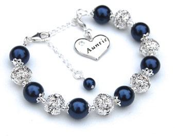 Aunt Charm Bracelet, Aunt Gift, Aunt Jewelry, Auntie Bracelet, Gift for Auntie, Aunt to Be Gift, Aunt Gift Ideas, Trending Jewelry