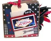 Las Vegas Scrapbook - Vacation - Casino -Paper Bag Album