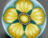 Yellow Polymer Clay Flower Cane -'Seymore' series (18D)