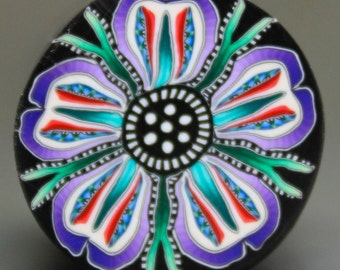 Polymer Clay Multi-color Flower Cane -'Enchanted Forest' (30E)