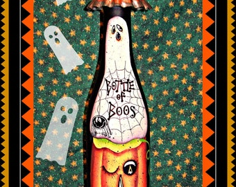 Apple Tree Cottage Origanl Design E Pattern - Bottle of Boos #3