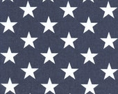CLEARANCE!! 1 yard Premier Prints Fabric -  American Flag Fabric - Patriotic Fabric - Stars and Stripes - Stars Navy - America - Home Decor