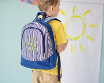Personalized Boys Preschool Backpack/Bookbag