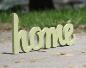 home handmade wood sign - wall decoration for vintage or modern decor