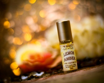 Lemon Amber Perfume Oil-Limited Edition