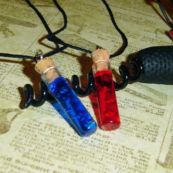 BioShock - Adam and Eve Vial Friendship Necklaces