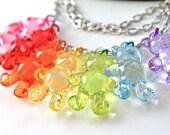 Necklace 7 big bears rainbow kawaii  original choker cute harajuku