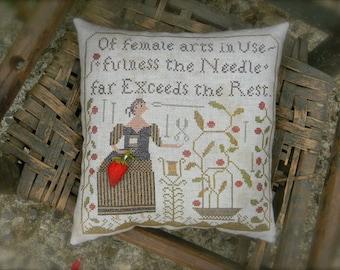 USEFULNESS - cross stitch PAPER PATTERN - from Notforgotten Farm