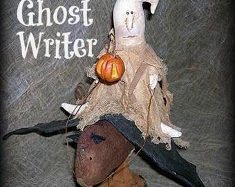 Ghost Writer E-Pattern