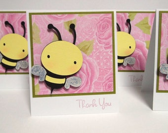 Bee Note Cards set of 8