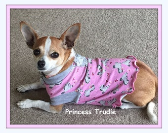 Pet Clothing Zebras on Pink and More To Order