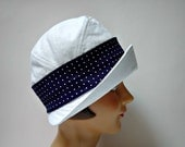 Canvas Cloche with Turned Up Brim - Women's Cloche Hat - 3 WEEKS FOR SHIPPING