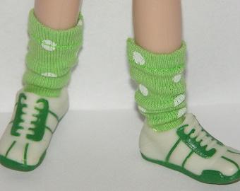 Short Line Green Socks For Blythe...One Pair Per Listing