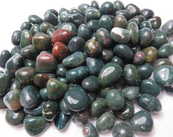 3 Bloodstone Healing Stones Healing Crystal Chakra Meditation Reiki Energy A Stone Used In Magic lot b