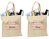 Custom MOTHER of the BRIDE. Mother of the Groom Tote. Mother of the Bride Tote. Personalized. Tote. Bag. Totes. Bags.