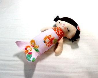 Minda the Mermaid Stuffed Doll