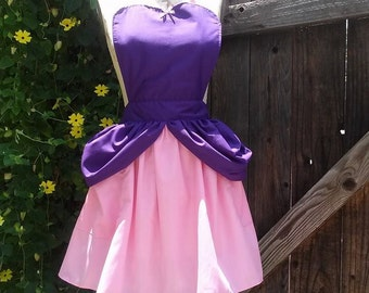 ANASTASIA apron  or Drizella apron  wicked Step Sister aprons dress up Cindrellas stepsisters Halloween costume apron