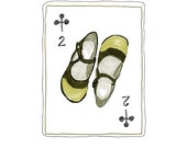 Two of Clubs print