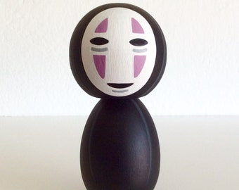 Kokeshi Doll. No Face from Spirited Away