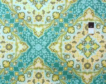 Joel Dewberry PWJD065 Notting Hill Kaleidoscope Basil Cotton Fabric 1 Yard
