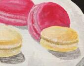 French Macarons - Original Acrylic Painting
