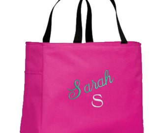 Personalized Tote Bags for Bride, Bridesmaid, Maid of Honor, Mother of the Bride, Mother of the Groom